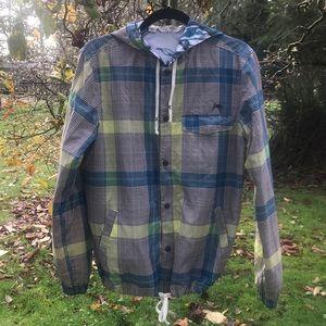 Like new lightweight hooded jacket by Kiera